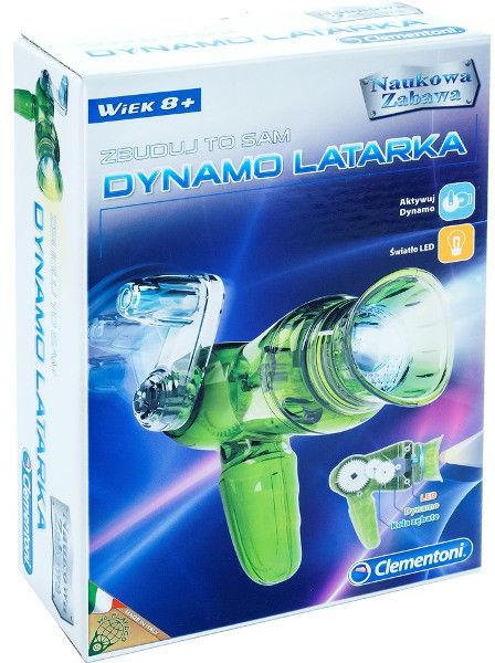Clementoni - Zestaw edukacyjny Latarka Dynamo 60583