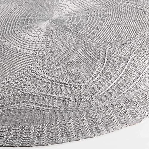Charme und Douceur zestaw stołu, poliester, szary, 38 x 38 cm