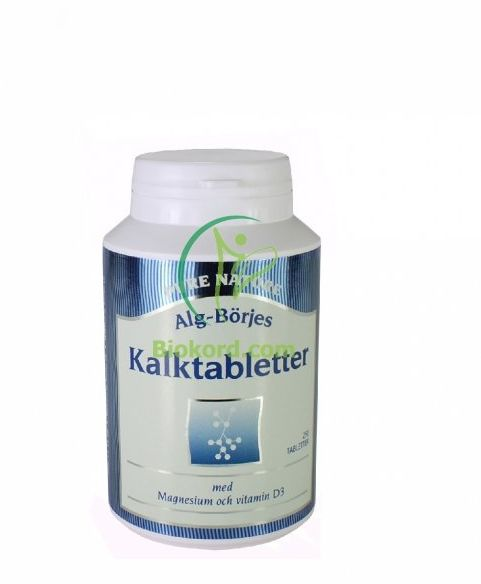 Kalktabletter Wapń, Suplement Diety, Alg-Börje