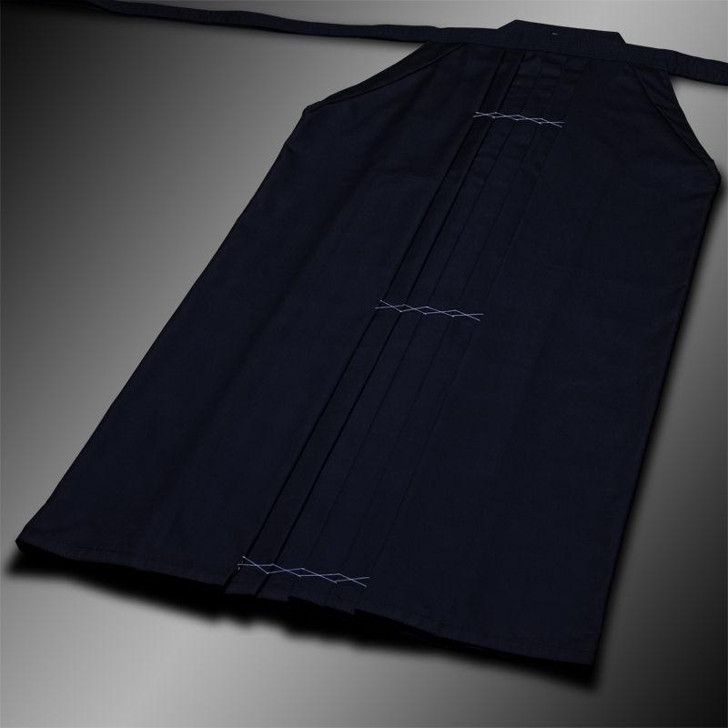 standard rayon-poly hakama (granat, szt.jedwab-polyester)