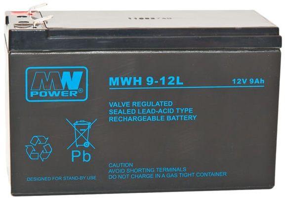 Akumulator żelowy MWH 12V 9Ah