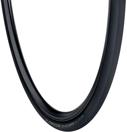 Opona rowerowa szosowa VREDESTEIN FRECCIA 700x25 (25-622) zwijana wkładka antyprzebiciowa TPI50 260g czarna VRD-28844,8714692319303