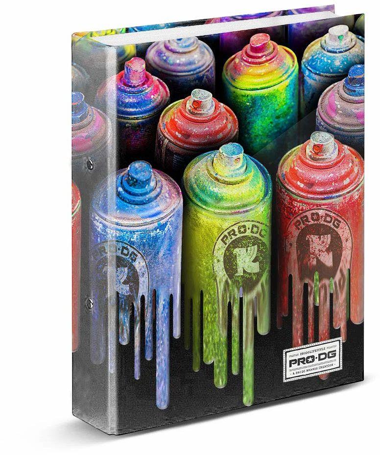 PRODG PRODG Ring Binder Colors uchwyt na torebkę, 32 cm, wielokolorowy (wielokolorowy)