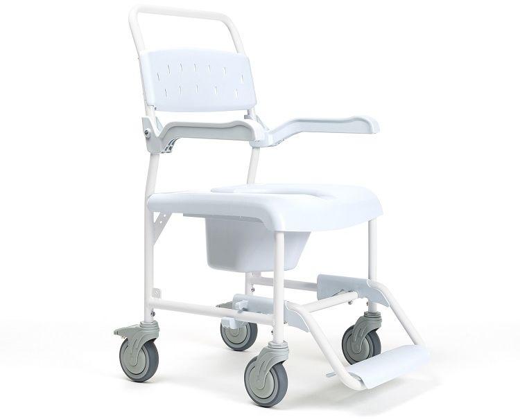 """Wózek sanitarny toaletowo-prysznicowy PLUO 5"""" koła Vermeiren"""