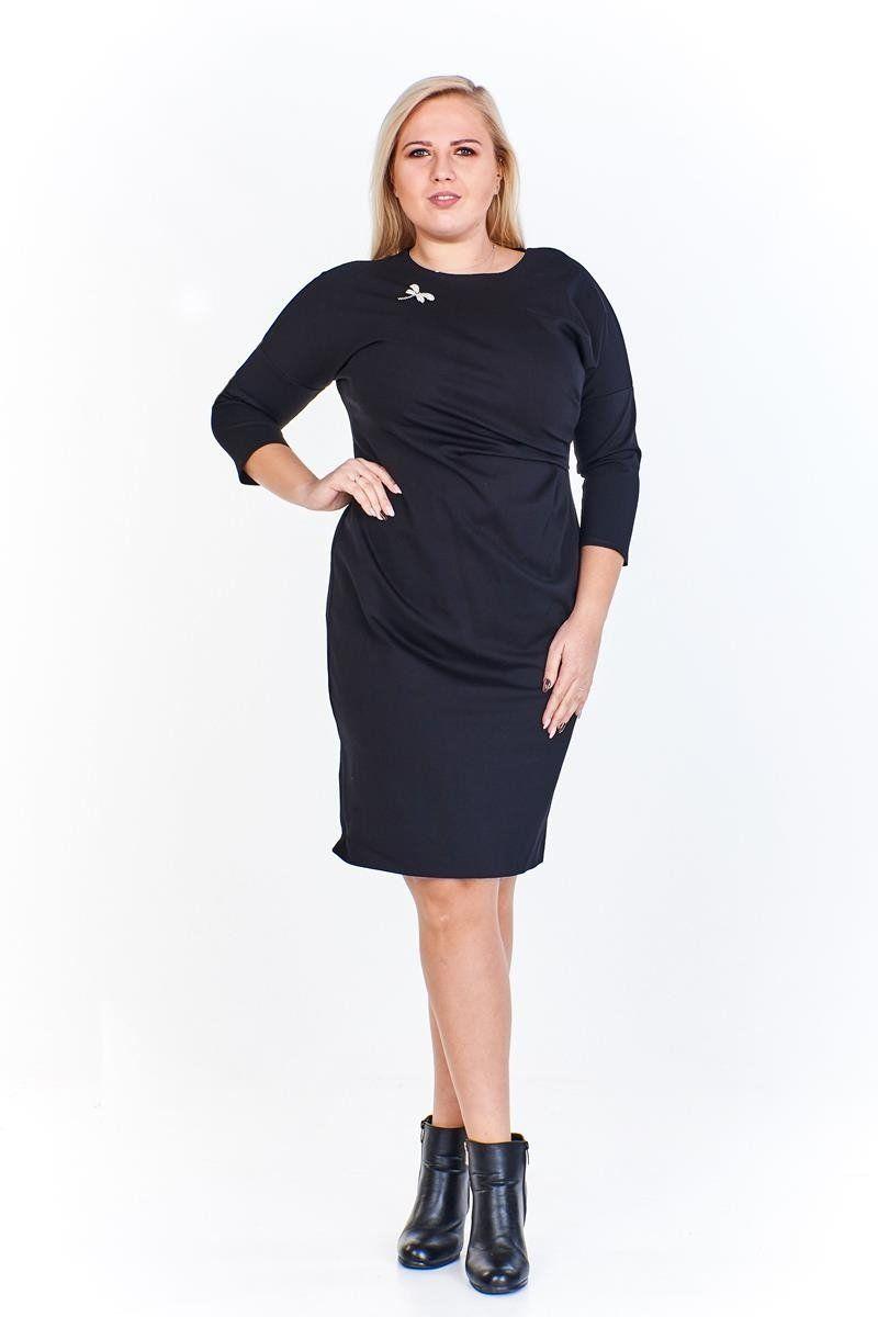 Sukienki Sukienka Suknie FSU963 CZARNY