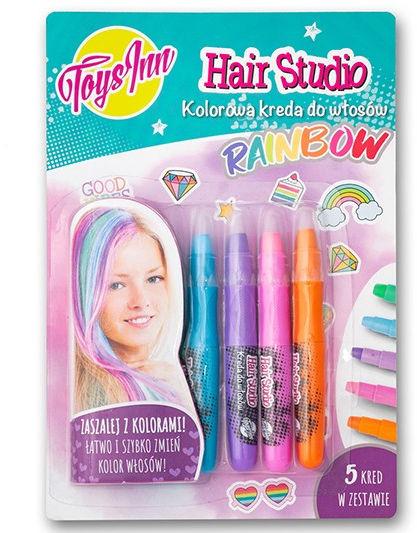 Kreda do włosów Rainbow