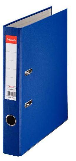 Segregator Esselte ekonomiczny A4/50 mm - niebieski (81195)