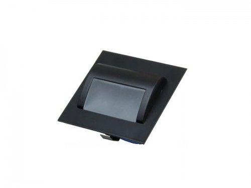 Oprawa schodowa LED 1,5W 12V biała ciepła - obudowa czarna