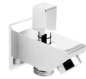 Wylewka wannowo/prysznicowa z przełącznikiem ciśnieniowym do słuchawki prysznicowej ,CHROM