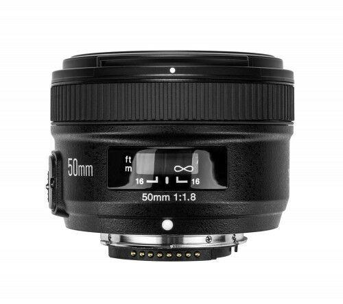 Yongnuo YN 50mm f/1,8 do Nikon F