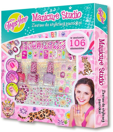 Manicure studio 3 lakiery Pantera