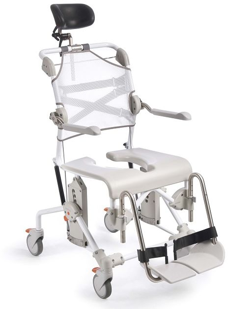"""Wózek sanitarny toaletowo-prysznicowy SWIFT MOBILE 2 Tilt Etac (5"""" koła)"""
