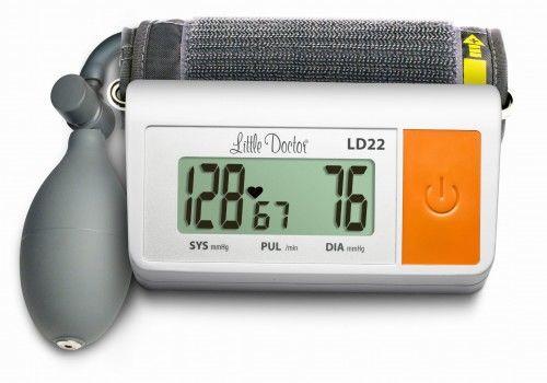 Ciśnieniomierz pół-automatyczny LD22