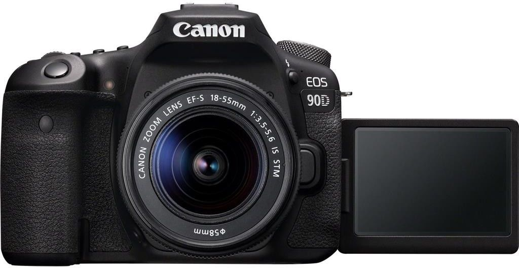Canon EOS 90D + EF-S 18-55mm f/3.5-5.6 IS STM+ Sandisk 32GB