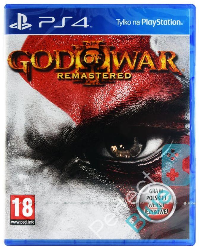 GOD OF WAR 3 III REMASTERED / PS4 / SKLEP WARSZAWA / URSYNÓW MOKOTÓW / CH LAND - METRO SŁUŻEW
