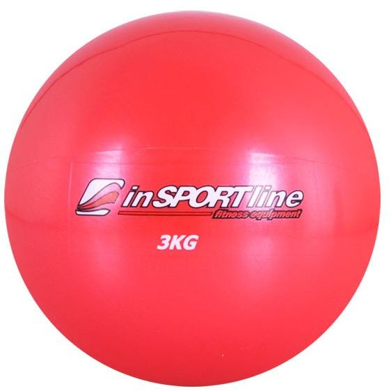 Piłka do jogi 3 kg - Insportline - 3 kg