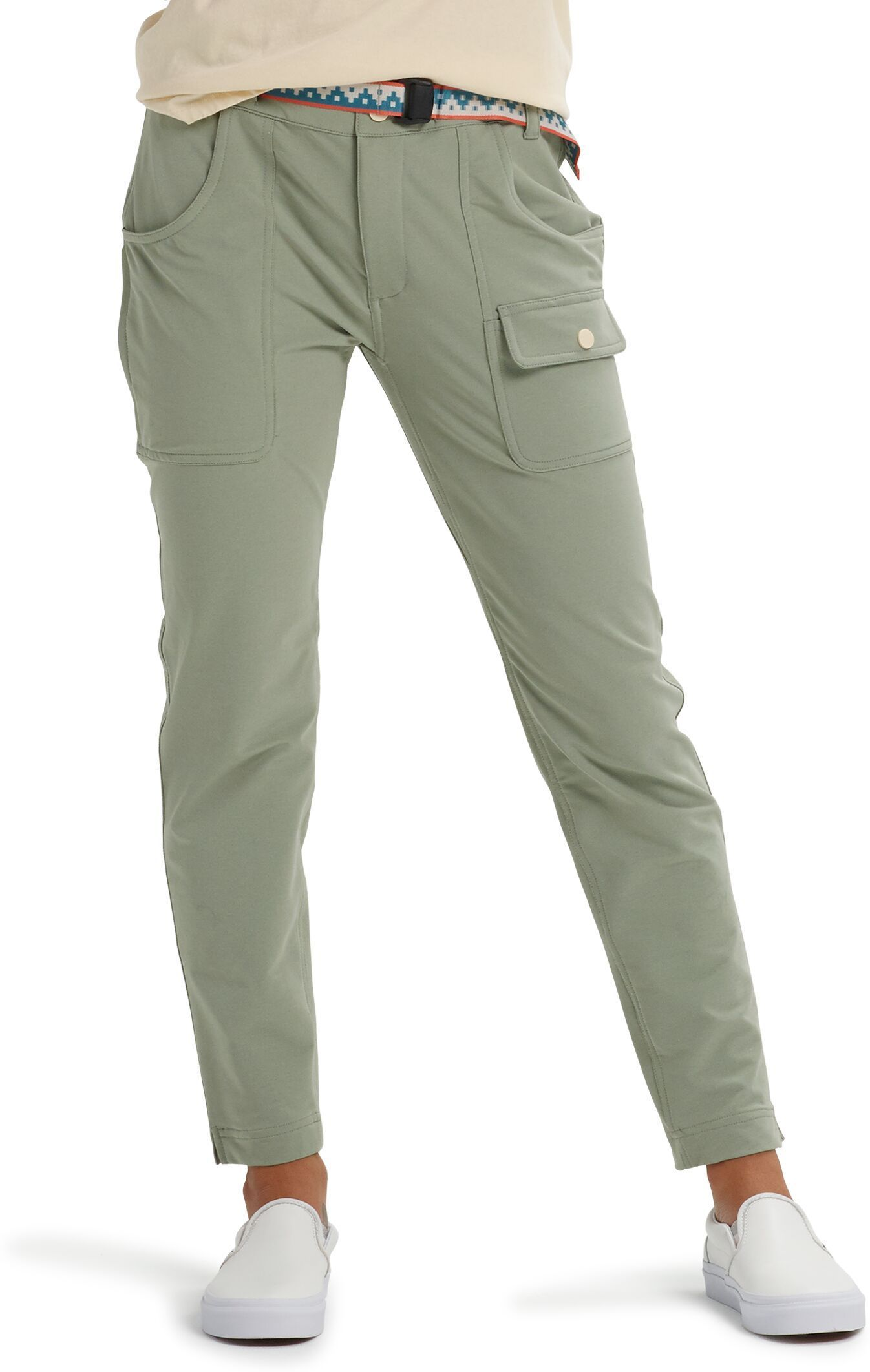 spodnie damskie BURTON CHASEVIEW PANT Shadow