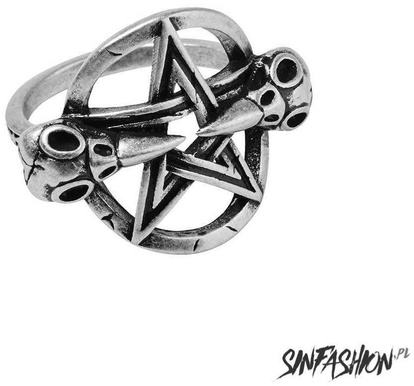 Pierscionek killstar pray silver ring