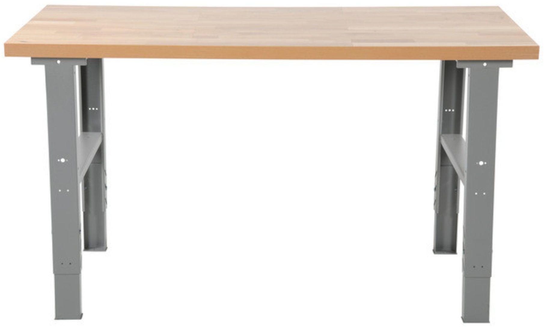 Extra wytrzymały stół montażowy, blat 2000mm, nośność 500kg