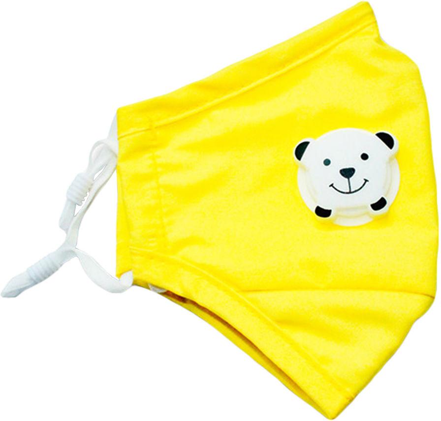 Maska antysmogowa Med Patent dziecięca basic junior Yellow