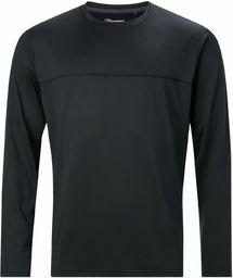 Berghaus damski Voyager podstawowy t-shirt z długim rękawem, czarny/czarny, L