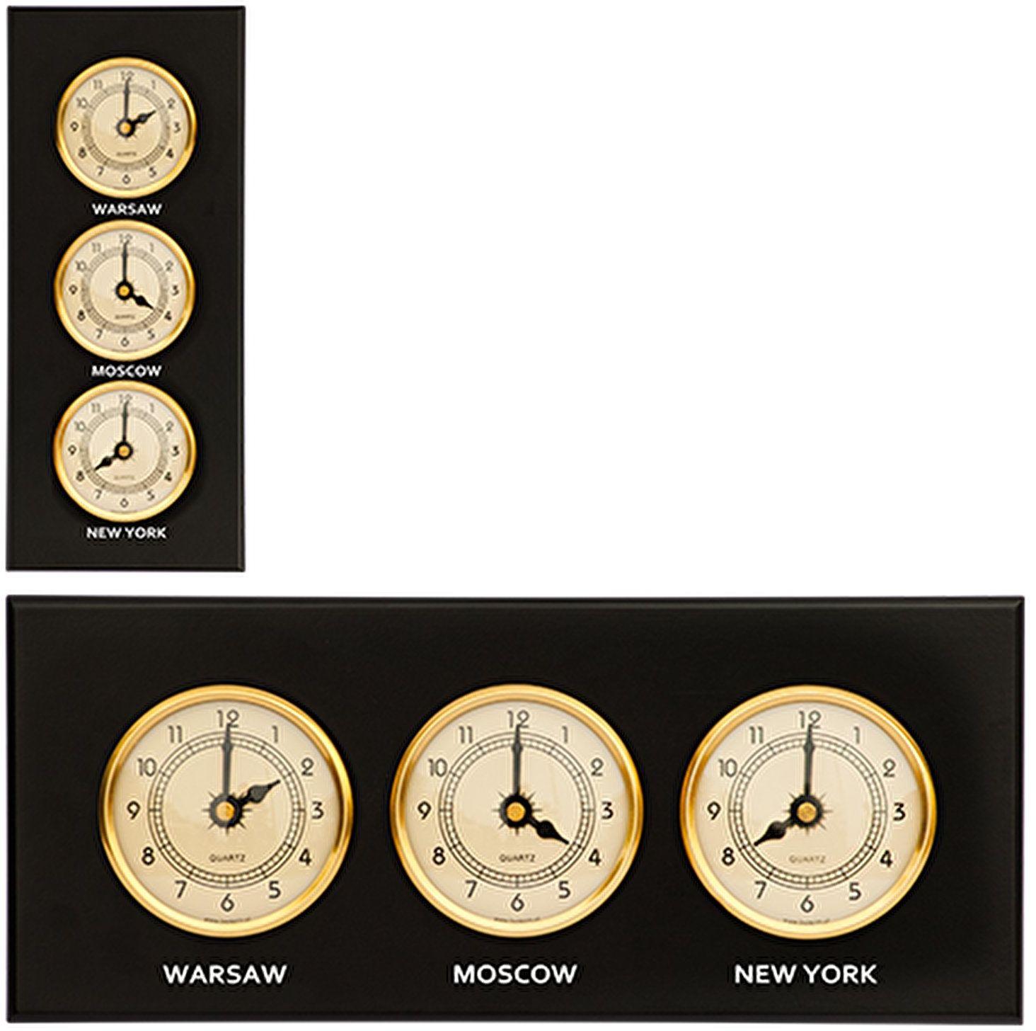 Zegar 3 w 1 (piaskowe tarcze)