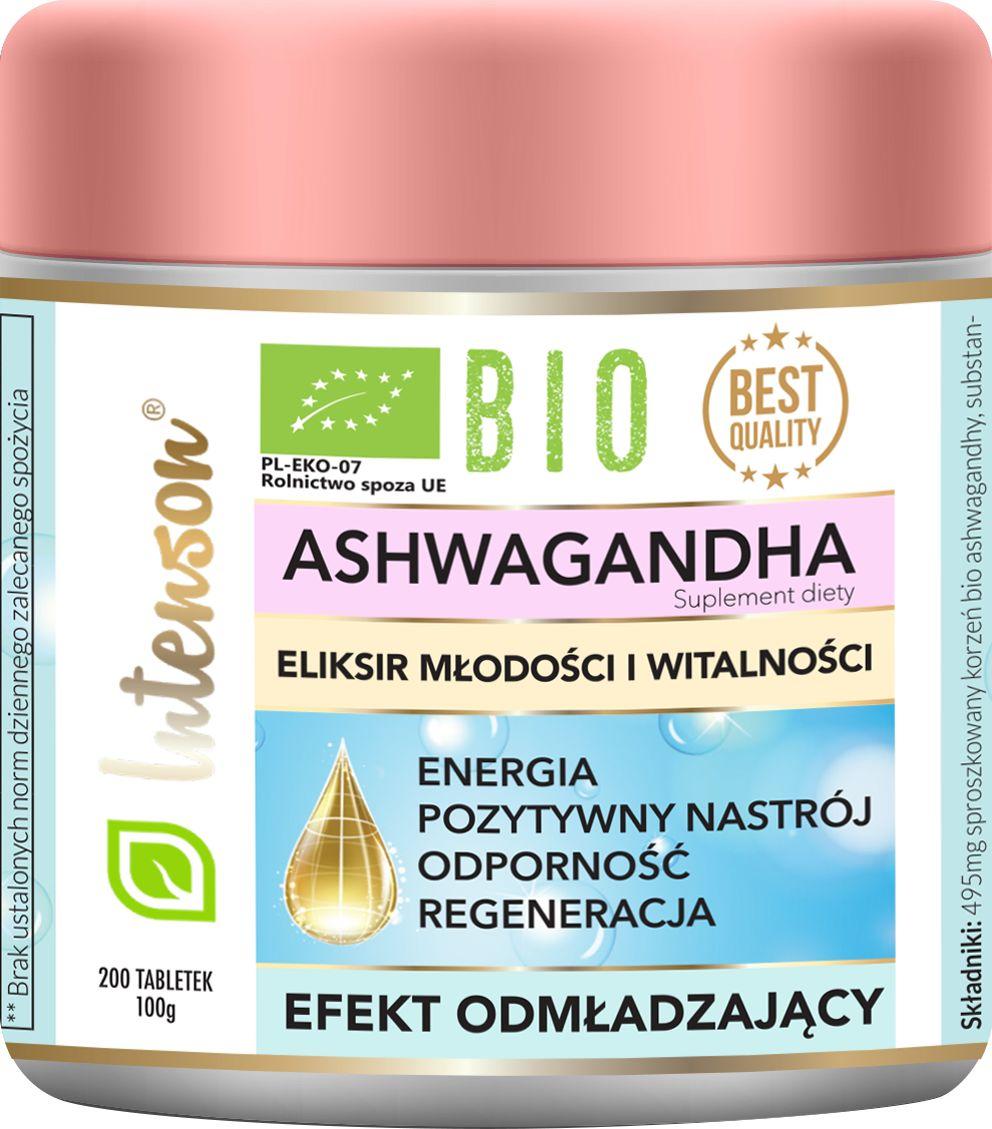 Ashwagandha - eiliksir młodości i witalności 200 Tabletek