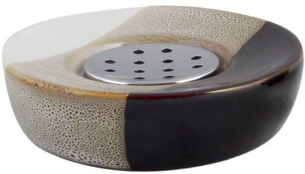 Mydelniczka łazienkowa Mocca z ceramiki