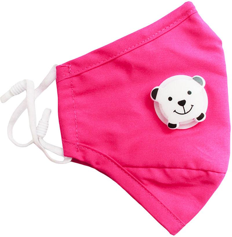 Maska antysmogowa Med Patent dziecięca basic junior Pink
