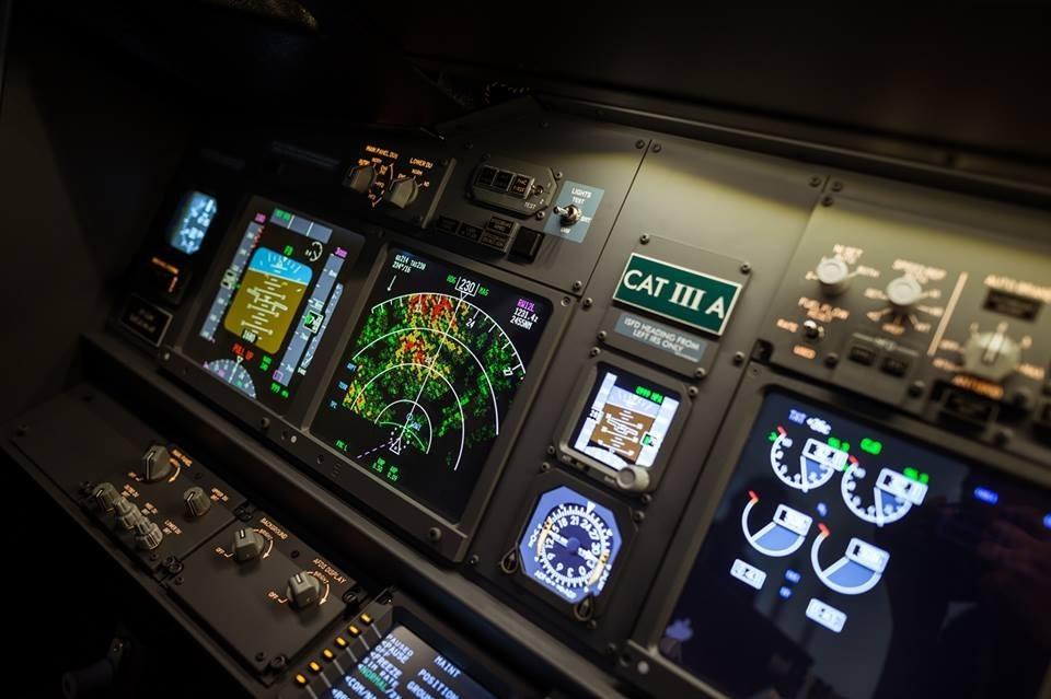 Lot zapoznawczy w symulatorze lotu  Wrocław