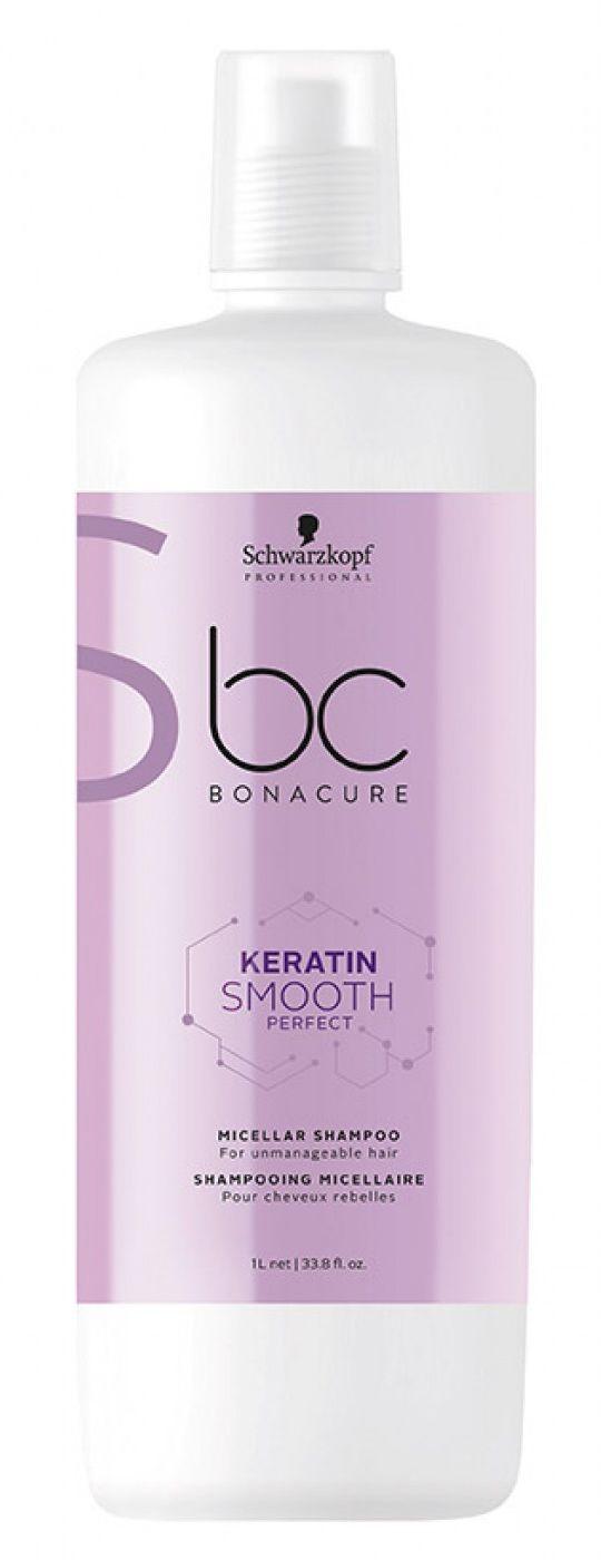 Schwarzkopf BC Smooth Perfect keratynowy micelarny szampon wygładzający 1000ml