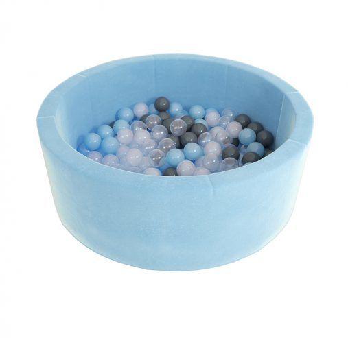 MAŁPISZON Suchy basen z kulkami Airpool Max niebieski