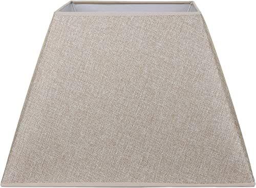 Better & Best klosz z lnu, kwadratowy, 45 cm, kolor wypalany, wymiary na dole: 44,5 x 44,5 na górze: 25,5 x 25,5 cm, wysokość: 31,5 cm, łóżko