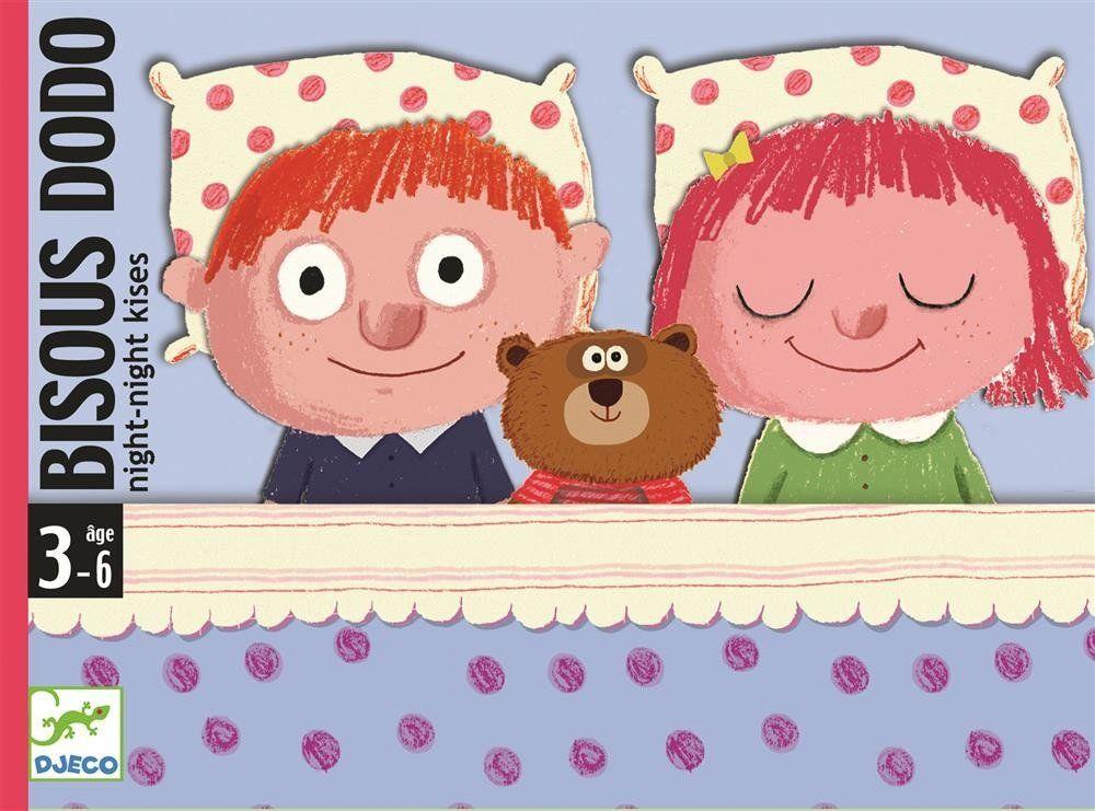 Gra karciana dla maluchów na dobranoc DJ05176-Djeco, gry dla dzieci