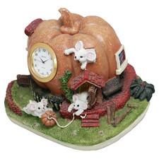 Zegar ceramiczny domek D3