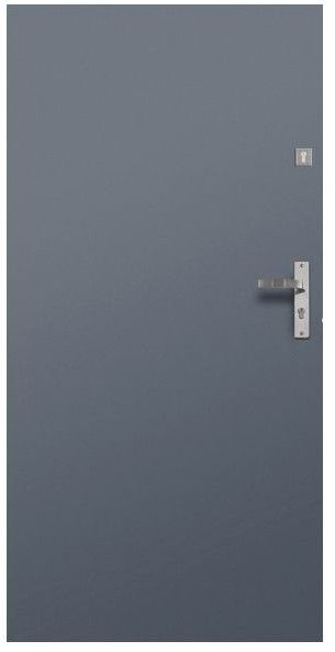 Drzwi stalowe 80 cm
