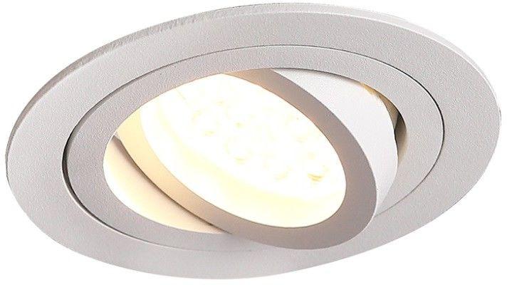 Lampa SIGNAL I oprawa podtynkowa H0084 biały Maxlight -