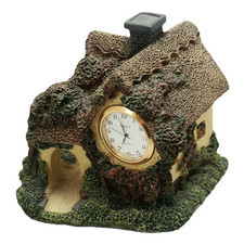 Zegar ceramiczny domek D4