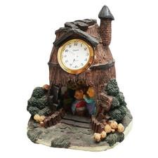 Zegar ceramiczny domek D5