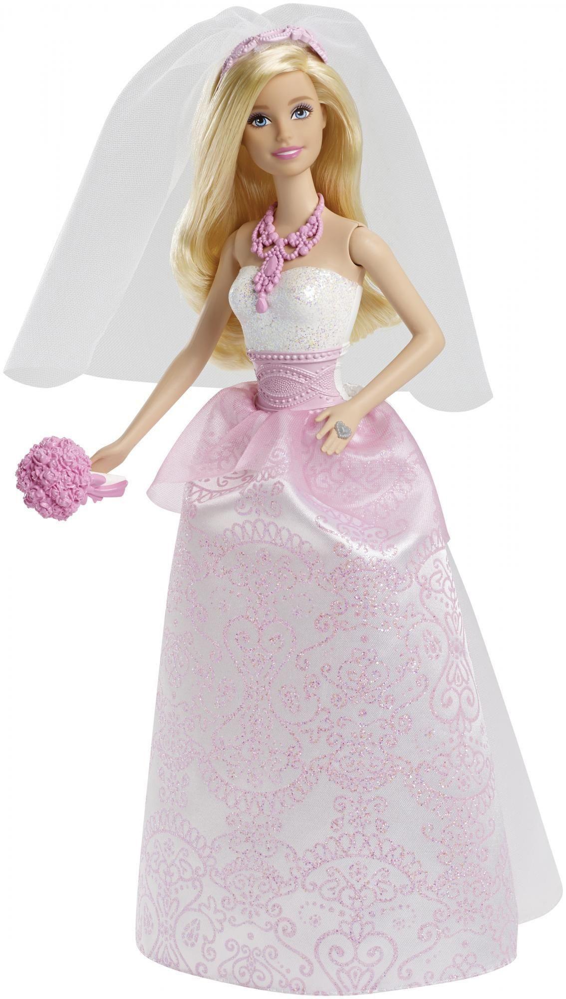Barbie jako Panna Młoda CFF37