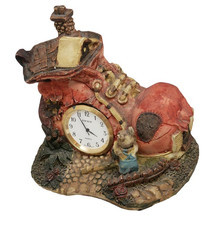 Zegar ceramiczny domek M2