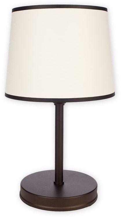 Sambra lampka stołowa 1 pł. / rdza wenge