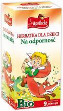 Herbatka dla dzieci- DZIKA ROŻA I ROKITNIK BIO 20 x 1,5 g Apotheke
