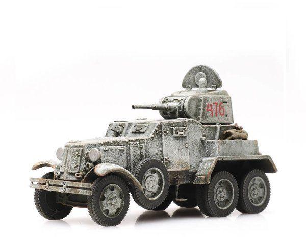 Samochód Pancerny BA 10 Gotowy Model H0 Artitec