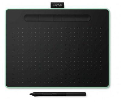 Tablet graficzny WACOM Intuos M Pen and Bluetooth Pistacjowy CTL-6100WLE-N. AKCESORIA W ZESTAWIE DO 40%! ODBIÓR W 29 min! DARMOWA DOSTAWA DOGODNE RATY SPRAWDŹ!