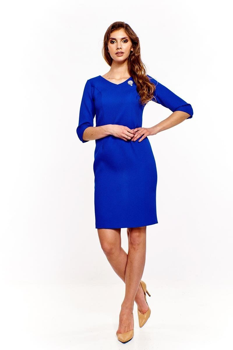 Sukienka FSU964 CHABROWY