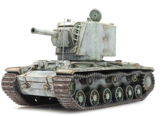 Czołg Ciężki KW 2 zima Gotowy Model H0 Artitec