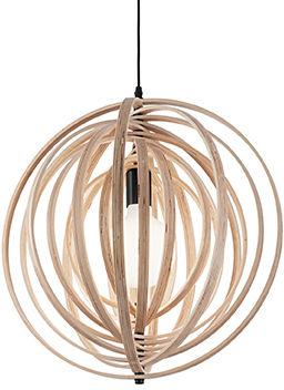 Lampa wisząca Disco SP1 138275 Ideal Lux drewniana oprawa w stylu design