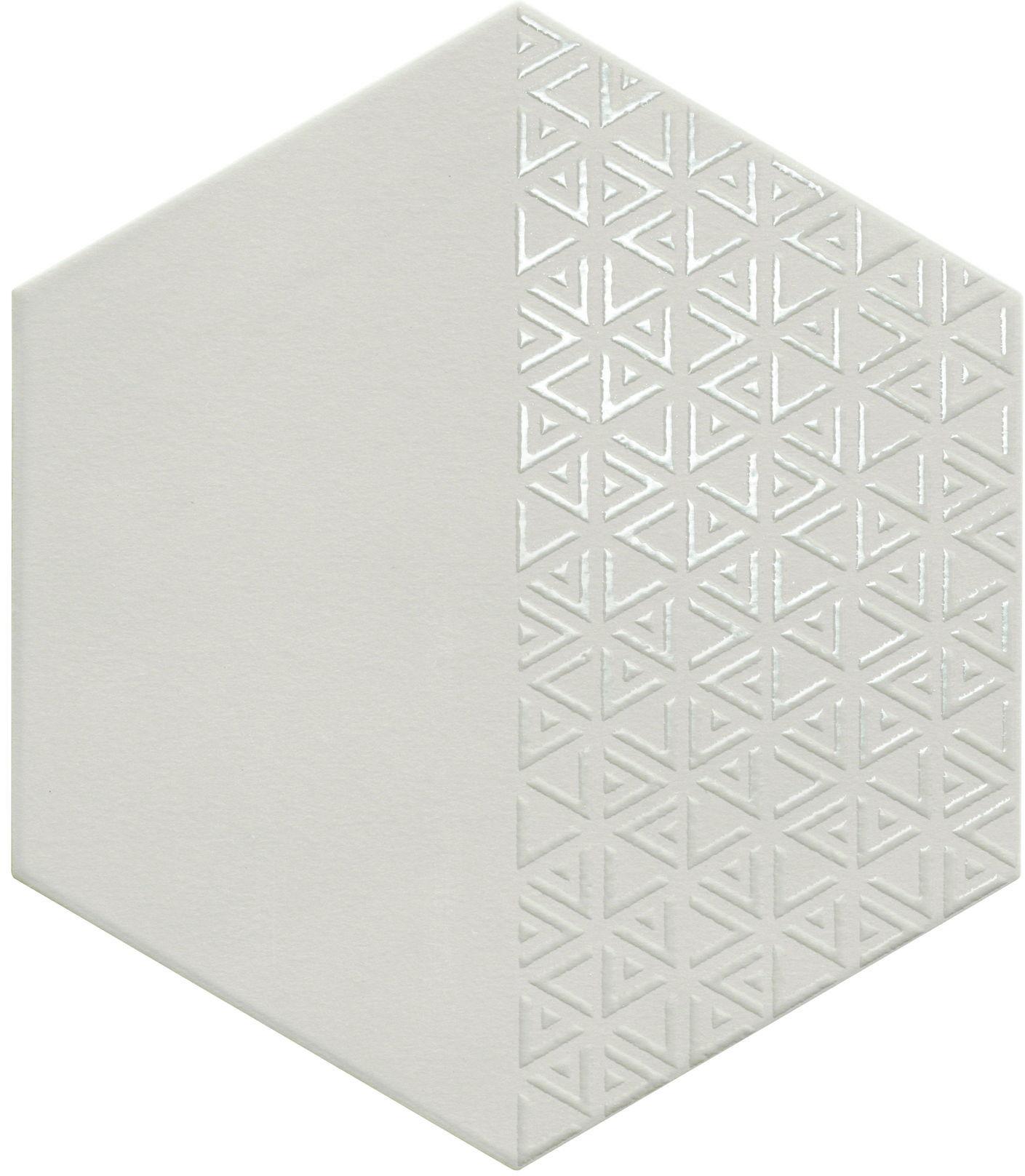 Opal Deco Grey 28,5x33 płytki heksagonalne