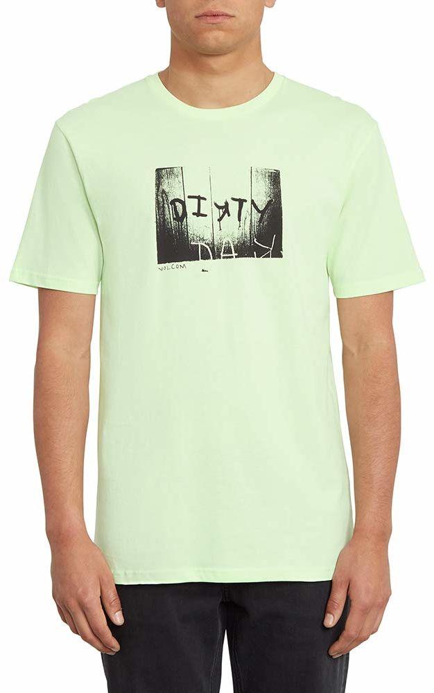 Volcom Mężczyźni Dirty Day Bsc Ss podkoszulek, zielony (Key Lime), XS